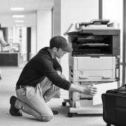 Ежеквартальное техническое обслуживание монохромного МФУ формата А3
